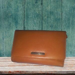 Nine West Leather Tri-fold Wallet